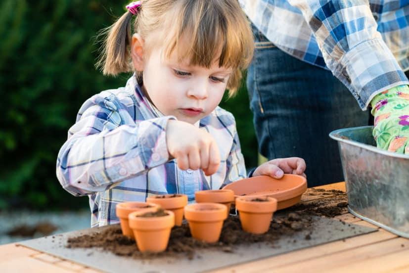 Vrtnarjenje z otroci
